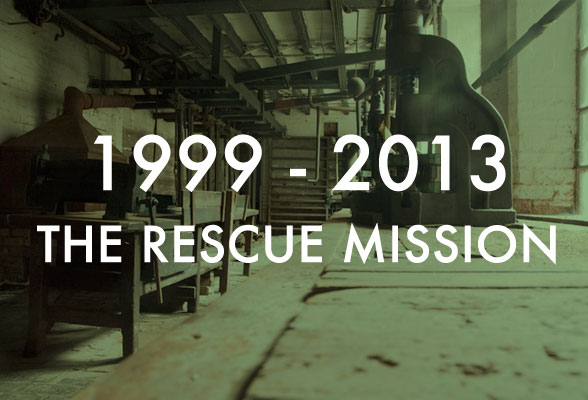1999 - 2013: The Rescue Mission