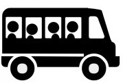 bus_icon_for_use_with_signs_or_buttons_clip_art_9562