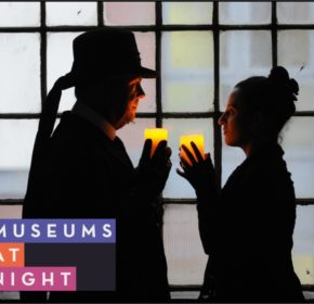 museums at night logo candlelit tour