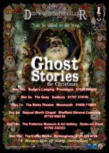 Ghost Stories for Christmas tour poster