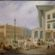 Birmingham: Victoria Square area. Painting from late 1800s